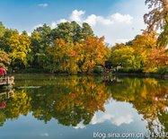 國內四大賞楓地之一,蘇州天平山的紅楓甲天下