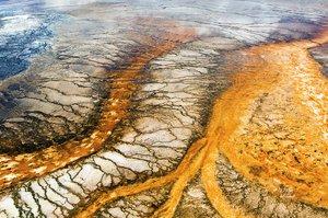 【美国】黄石公园:上帝遗落的唯美抽象画