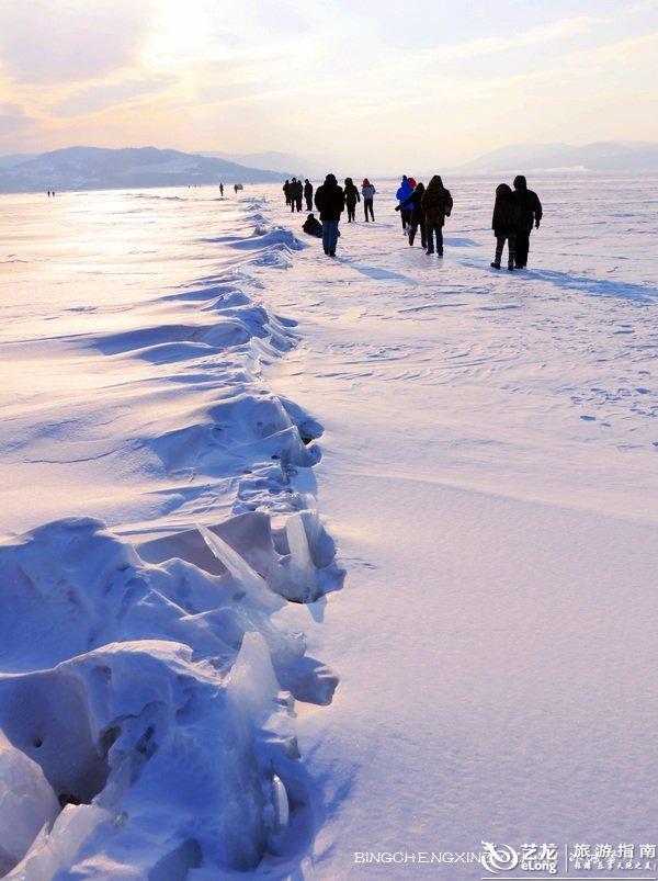实拍今冬镜泊湖激动人心的冬捕