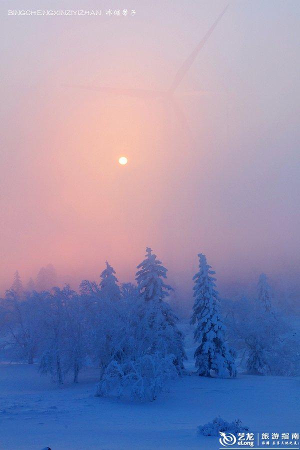 来一场风花雪月的约会——黑龙江雾凇十大醉美观赏地