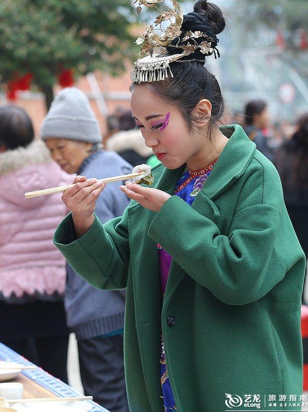 实拍:好看又好吃的四川兴文项目--猪儿粑,曹作美食有关的美食安卓开发外卖图片