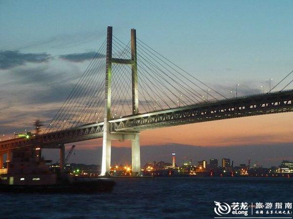 东京 东京湾 自由女神 彩虹大桥
