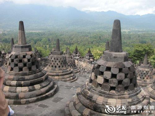 世界 印度尼西亚/婆罗浮屠佛塔