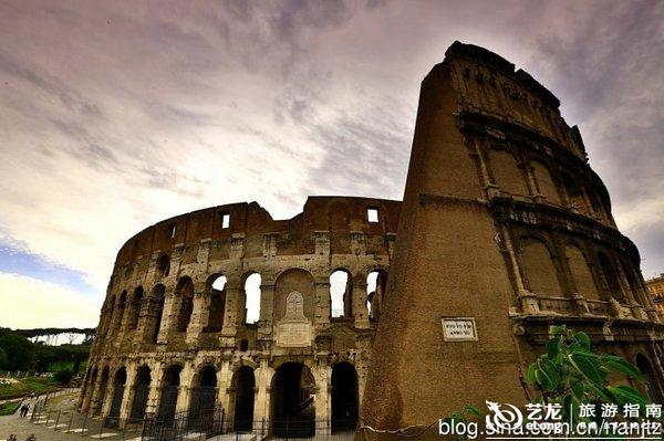 历史难以承受之重的古罗马竞技场