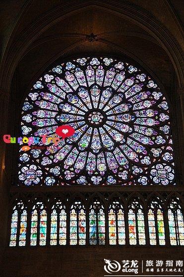 实拍 巴黎圣母院