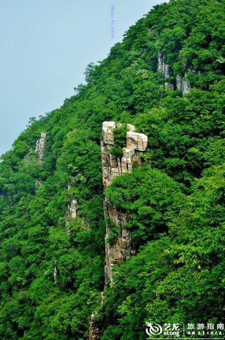 北方 小张家界 棺材山 圣水峪美景