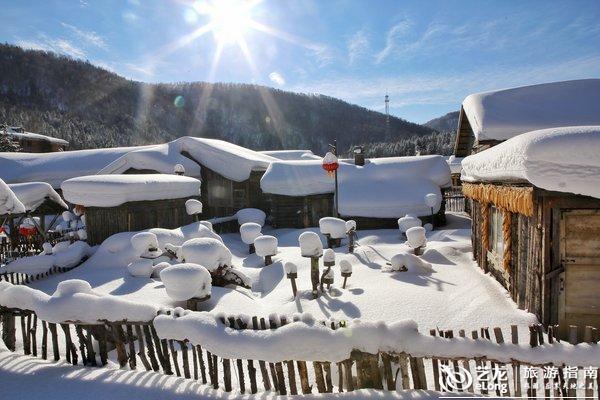 雪蘑菇木房