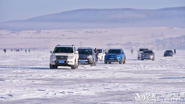冬捕一网十万斤,欢腾了冰封的镜泊湖-么么锐行摄