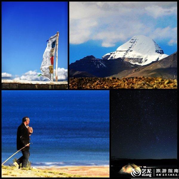 沉重的西藏阿里风景