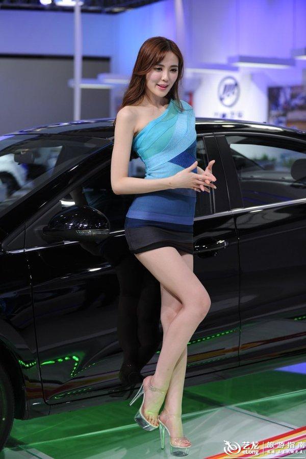 2015广州车展模特(多图)