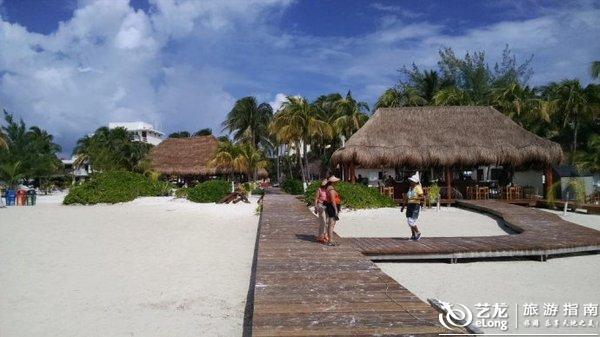【墨西哥坎昆】女人岛一日游, 笑悟兰因旅游攻