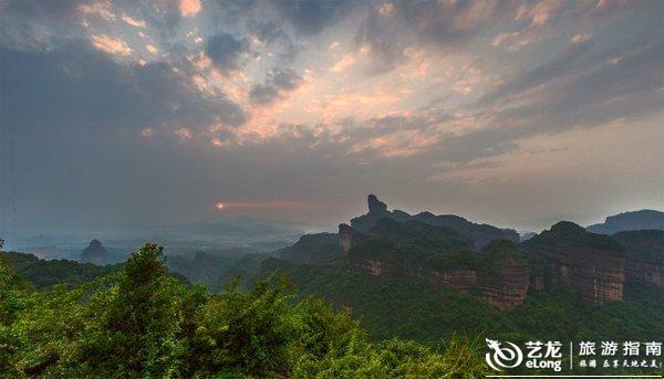 广东丹霞山旅游全攻略,陆建华旅游摄影攻略-南京到横店自助游攻略图片