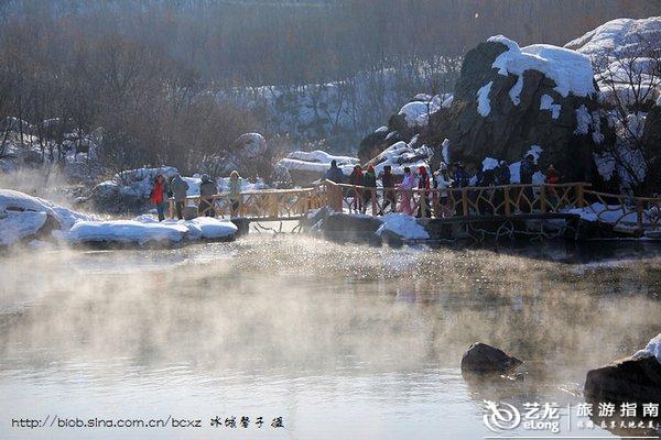观冰瀑、看冬捕、赏雾淞、泡温泉,爽游镜泊湖!