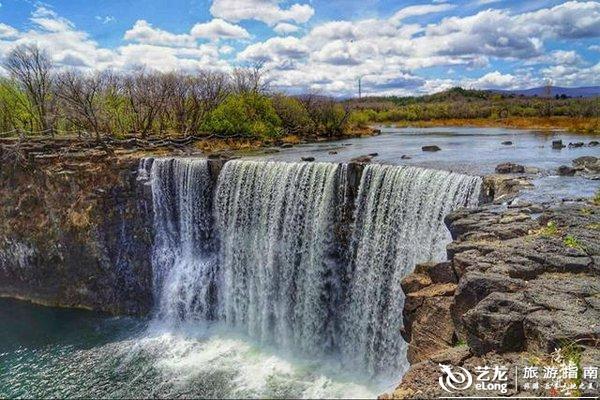 吊水楼瀑布,镜泊湖最为著名的自然景观!