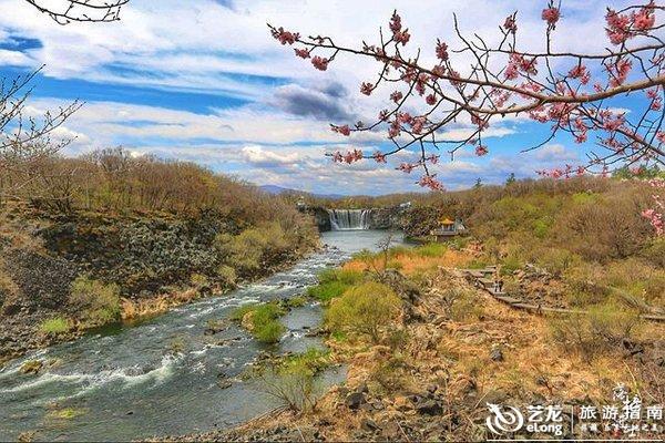 吊水楼瀑布,镜泊湖最美的自然景观