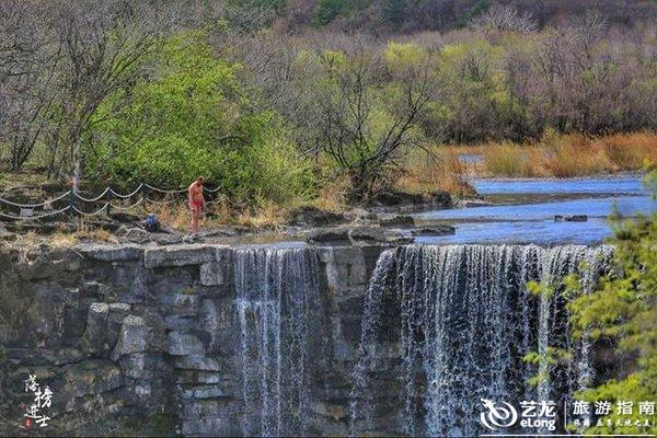 镜泊湖畔,一睹瀑布跳水第一人的风采!