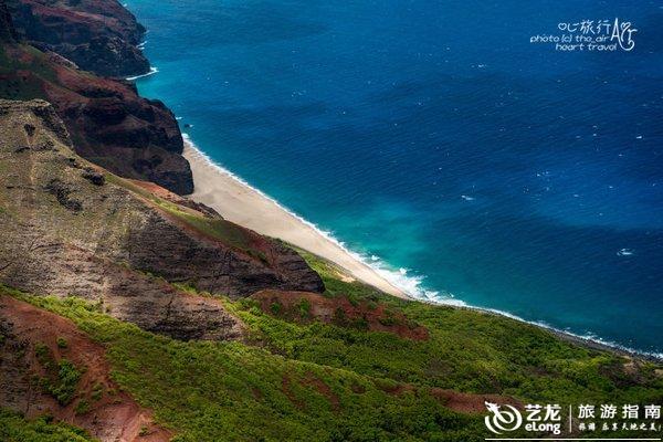 美国|夏威夷可爱岛·从空中俯瞰你的样子最美