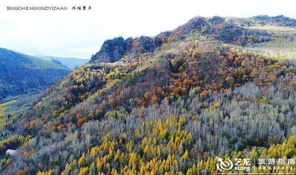 秋天的雪乡国家森林公园,林海深处的原始林
