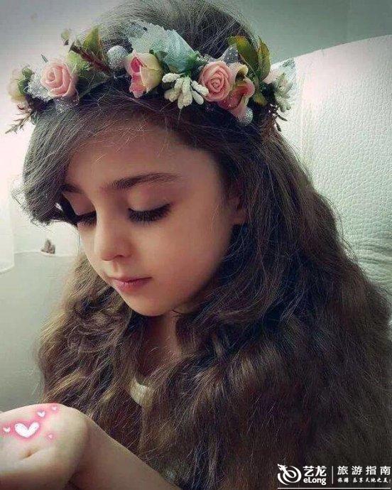 伊朗漂亮可爱的小姑娘,震惊世界