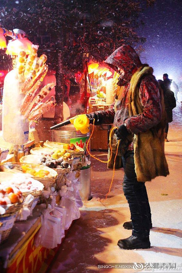 雪乡是个天然大冰箱,那里装满了童年的回想