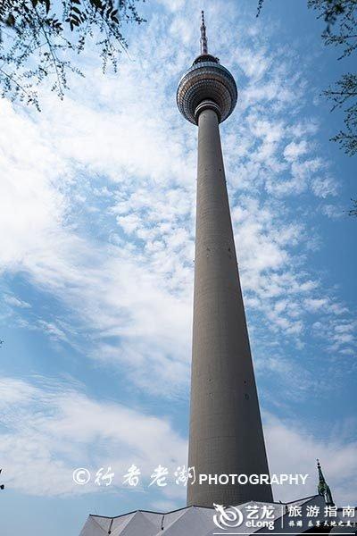 当年世界第二高电视塔,人们叫它牙签芦笋,其实是柏林的地标建筑