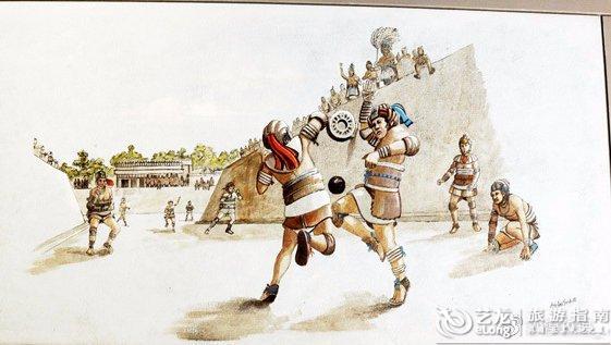玛雅人的足球赛高于生死,失败者要被杀掉献祭
