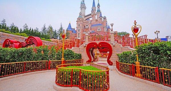 上海迪士尼图片