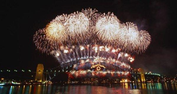悉尼新年烟火