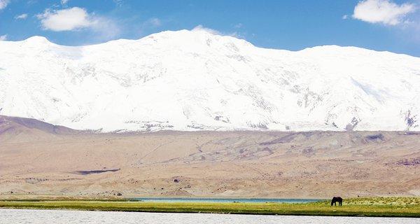 新疆慕士塔格峰图片