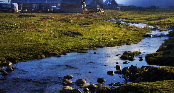 禾木村图片