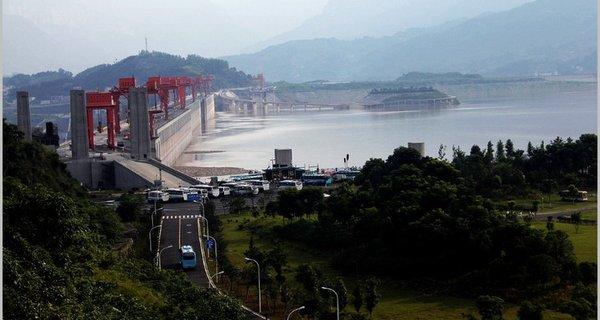 三峽大壩圖片