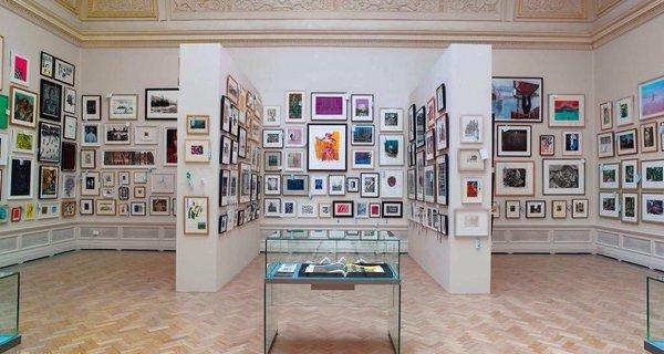 画廊展示快题设计