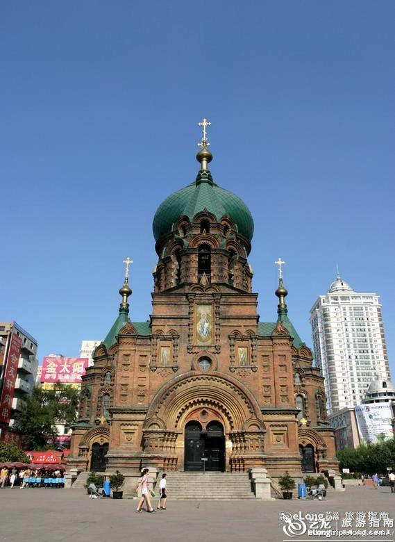 圣索菲亚教堂_哈尔滨圣索菲亚大教堂图片 - 图片 - 艺龙旅游指南