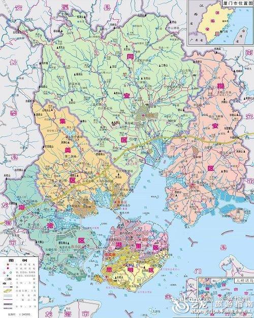 重庆到西安旅游攻略_厦门地图 - 图片 - 艺龙旅游指南