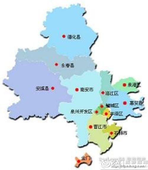 重庆到西安旅游攻略_泉州地图 - 图片 - 艺龙旅游指南