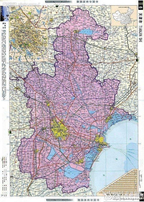 上海厦门特价机票_天津地图 - 图片 - 艺龙旅游指南