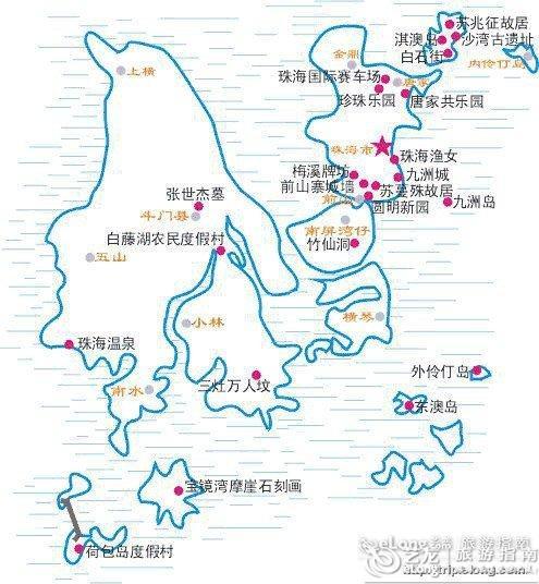 上海厦门特价机票_珠海景点分布 - 图片 - 艺龙旅游指南