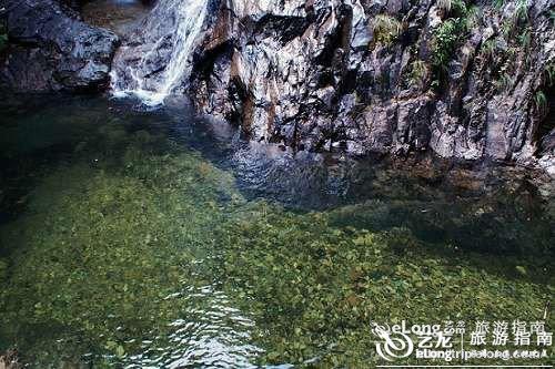 巾子峰森林公园风景一