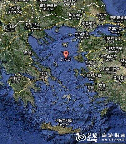 爱琴海地图