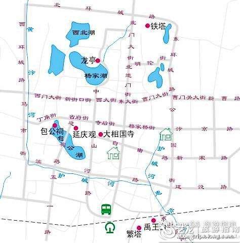 成都到北京机票_开封旅游地图 - 图片 - 艺龙旅游指南
