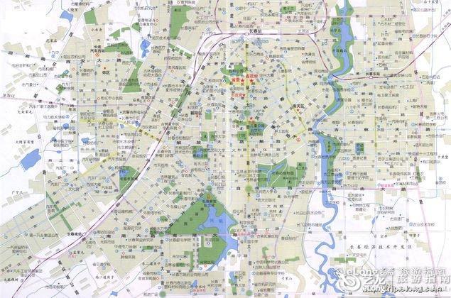 上海厦门特价机票_长春地图 - 图片 - 艺龙旅游指南
