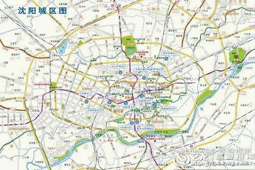 成都到北京机票_沈阳地图 - 图片 - 艺龙旅游指南
