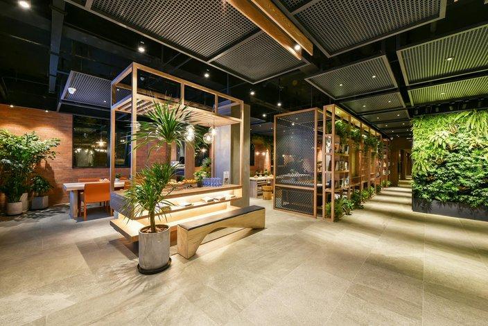 秋果酒店(北京前门店)大堂/接待台