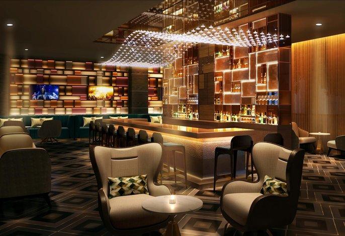Hard Rock Hotel Dalian Lobby