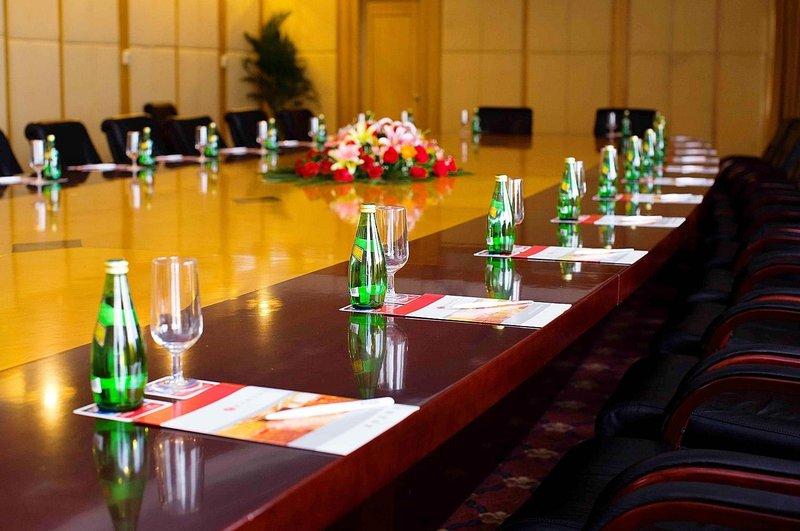 广州凯旋华美达大酒店会议室