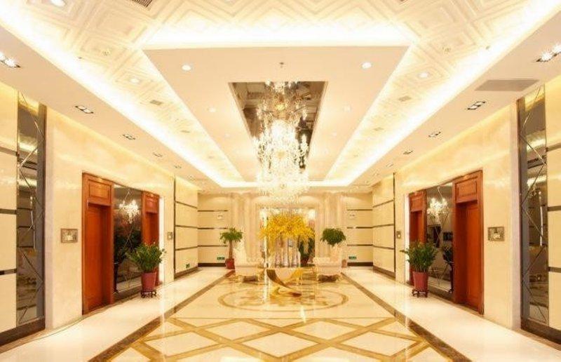 广州嘻哈酒店公寓(北京路金润铂宫店)大堂/接待台