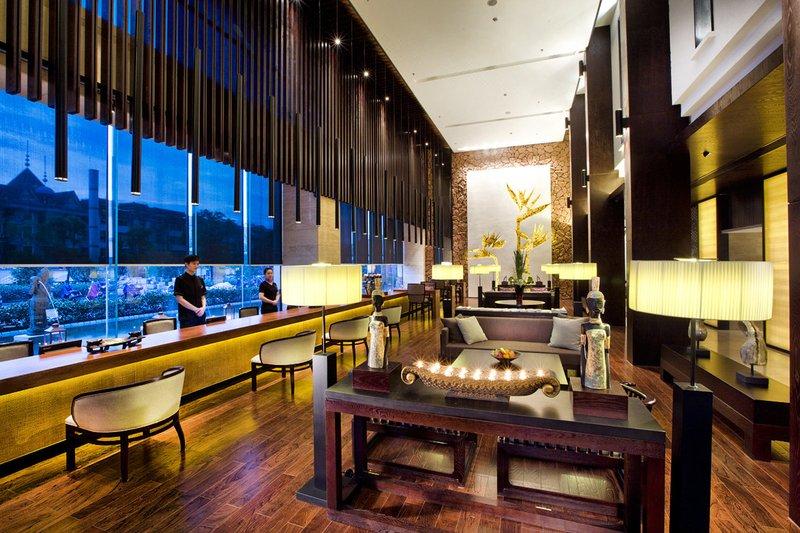 杭州银隆君亭酒店休闲室
