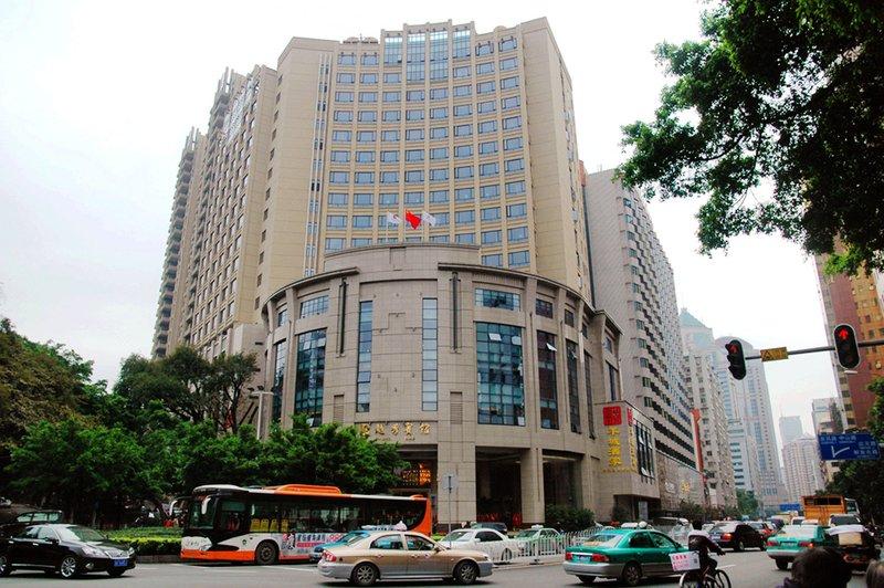 广州越秀宾馆酒店外观