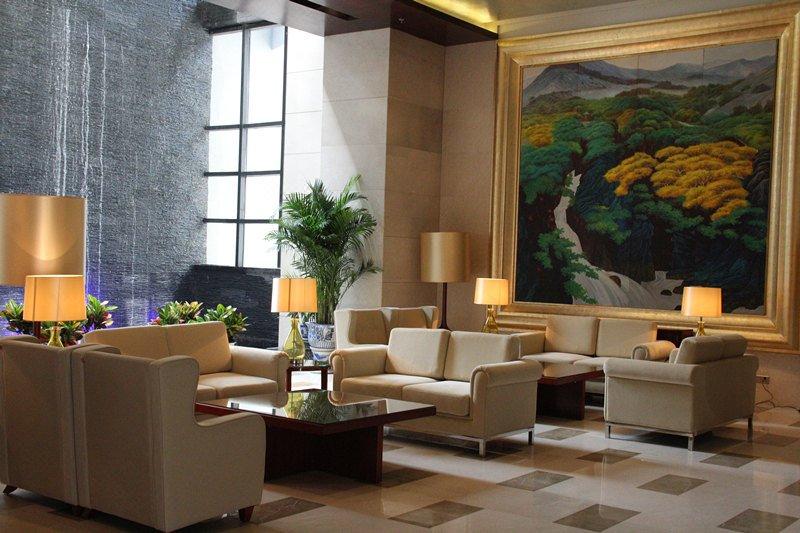 天津锦龙国际酒店休闲室