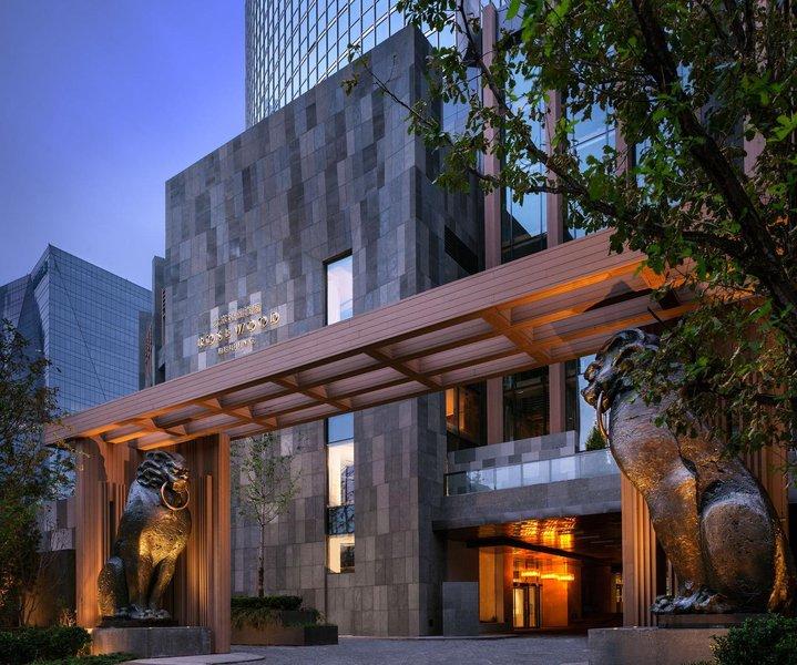 北京瑰丽酒店外观